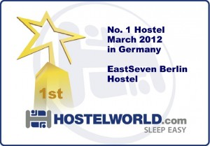 Award  best Hostel Germany